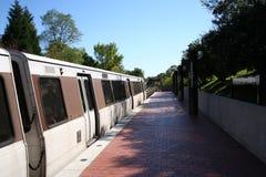 Washington DC della stazione di metropolitana Fotografia Stock