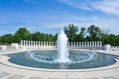 Washington DC, Denkmal des Zweiten Weltkrieges Stockfoto