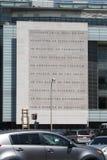 Washington DC des ersten Verfassungszusatzes 1 stockbilder