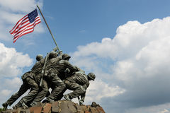 Washington DC di Iwo Jima Fotografie Stock Libere da Diritti