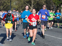 Washington DC di maratona di Cherry Blossom Ten Mile Run Immagine Stock