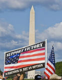 Washington DC di protesta di guerra Fotografie Stock