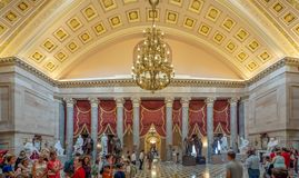 Washington DC, distrito de Columbia [interior del capitolio de Estados Unidos, distrito federal, centro turístico del visitante,  fotos de archivo