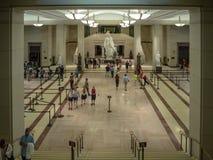 Washington DC, distrito de Columbia [interior do Capitólio do Estados Unidos, distrito federal, centro do visitante do turista, r fotografia de stock royalty free