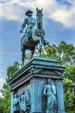 Washington DC do círculo do general John Logan Civil War Memorial Logan fotos de stock
