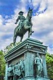 Washington DC do círculo do general John Logan Civil War Memorial Logan foto de stock
