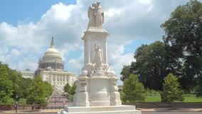 Washington DC do círculo da paz vídeos de arquivo