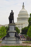 Washington DC, edificio del capitolio EE.UU. Foto de archivo
