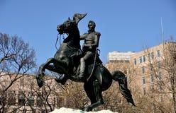 Washington, DC: Equestrian Statue of Andrew Jackson Royalty Free Stock Photography