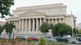 Washington DC, Etats-Unis, octobre 2017 : Archives nationales des Etats-Unis banque de vidéos