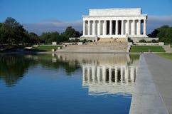 Washington DC, Etats-Unis - 27 septembre 2017 : Lincoln Memorial au mail national Washington DC images libres de droits