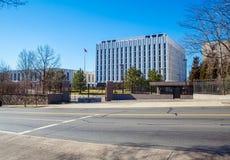 WASHINGTON DC, EUA - 27 DE JANEIRO DE 2006: A construção do Emba Fotografia de Stock