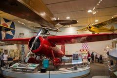 Washington DC för nationell luft och för utrymmemuseum Arkivbilder