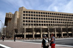 Washington, DC: FBI Building Stock Photo