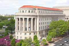 Washington DC. Federal Trade Commission Library in Washington DC royalty free stock photos