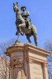 Washington DC för minnesmärke för Hancock statyinbördeskrig Royaltyfri Bild