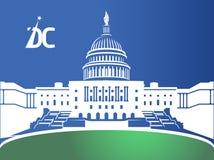 Washington DC Front View fotografie stock libere da diritti