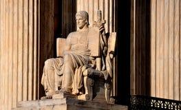 Washington DC: Högsta domstolen av Förenta staterna Fotografering för Bildbyråer