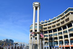 Washington DC Harbor Water Front Royalty Free Stock Photography