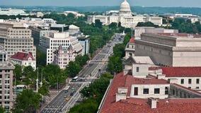 Washington DC - Hauptbauzeit-Versehen - 4K
