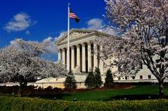 Washington DC: Högsta domstolen av Förenta staterna Arkivbild