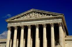 Washington DC: Högsta domstolen av Förenta staterna Arkivbilder