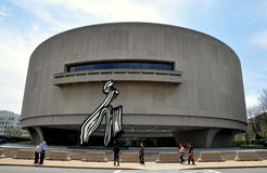 Washington, DC:  The Hirschhorn Museum of Art Stock Images