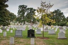 Washington DC huvudstad av Förenta staterna Arlington medborgarekyrkogård arkivbild