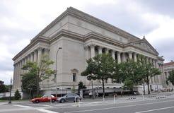Washington DC, il 5 agosto: Archivi nazionali americani che costruiscono da Washington District di Colombia Fotografia Stock Libera da Diritti