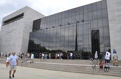 Washington DC, il 5 agosto: Aria di Smithsonian e museo di spazio da Washington District di Colombia fotografia stock libera da diritti