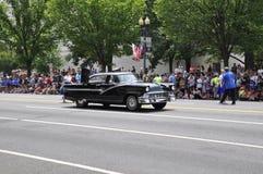 Washington DC, il 4 luglio 2017: La parata per la parata del 4 luglio da Washington District di Colombia U.S.A. Fotografie Stock Libere da Diritti
