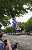 Washington DC, il 4 luglio 2017: La parata per la parata del 4 luglio da Washington District di Colombia U.S.A. Fotografia Stock Libera da Diritti