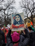 WASHINGTON DC - JAN 21, 2017: Kobiety ` s Marzec na Waszyngton Zdjęcia Royalty Free