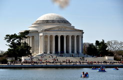Washington, DC:  The Jefferson Memorial Royalty Free Stock Photo