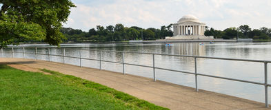 Washington DC - Jefferson Memorial an reflection on pool Stock Photography