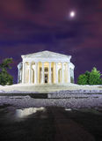 Washington DC Jefferson Memorial Winter Images stock
