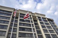 Washington DC, 5 juli 2017: Het Hotel van de ambassaderij van Washington Columbia District in de V.S. Stock Fotografie