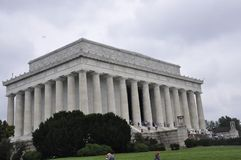 Washington DC, July 5th: Lincoln Memorial from Washington District of Columbia USA Stock Photography