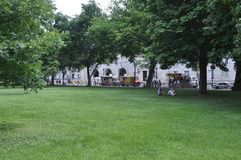 Washington DC, July 4th 2017: Park from Downtown of Washington District of Columbia USA Stock Image
