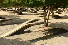 Free Washington, DC - June 01, 2018: The Pentagon Memorial Features 1 Royalty Free Stock Images - 119676809