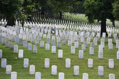 Washington, DC - June 01, 2018: Arlington National Cemetery. stock image