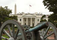 Washington, DC - June 02, 2018: Cannon near the Andrew Jackson`s stock photography