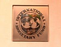 Washington, DC - June 04, 2018: Emblem of International Monetary royalty free stock photography