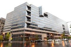 Washington, DC - June 04, 2018: International Monetary Fund, IMF. Headquarters 2 Building HQ2 in DC royalty free stock photography