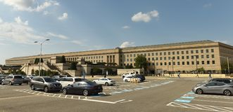 Washington, DC - June 01, 2018: Pentagon building, headquarters royalty free stock photography
