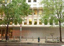 Washington, DC - June 04, 2018: The World Bank main Building in royalty free stock photos