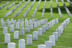 Washington, DC - 1. Juni 2018: Arlington-nationaler Friedhof lizenzfreie stockfotos