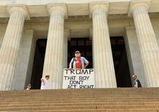 Washington DC - Juni 01, 2018: Gale McCray en årig retir 75 fotografering för bildbyråer