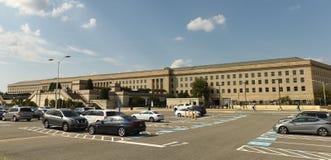 Washington DC - Juni 01, 2018: Pentagonbyggnad, högkvarter Royaltyfri Fotografi