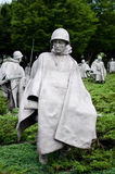 Washington DC, Korean War Memorial Stock Photos
